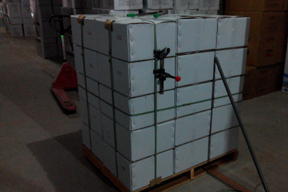 Carton with Pallet Package