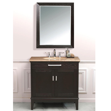 KBM111 36inch Bathroom Vanity With Marble Vanity Tops for Home Depot Canada