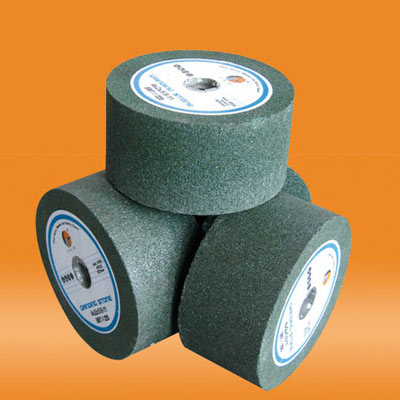 Green silicon carbide grinding stone for granite